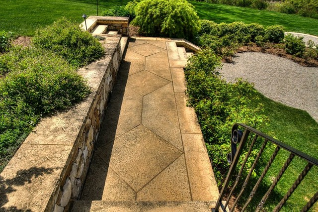 The Grand Stairway traditional-landscape