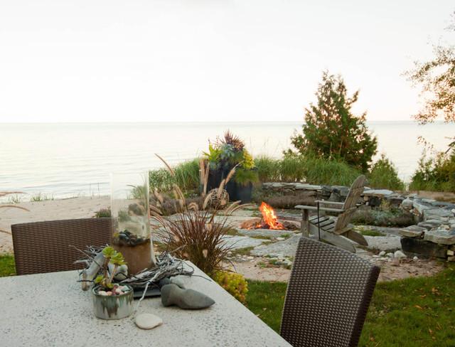 The LaSalle Home beach-style-landscape