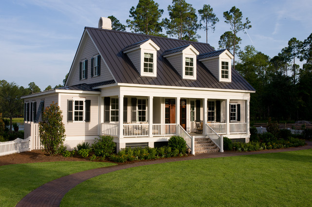 """The Page """"Palmetto Bluff Style Home"""" traditional-landscape"""