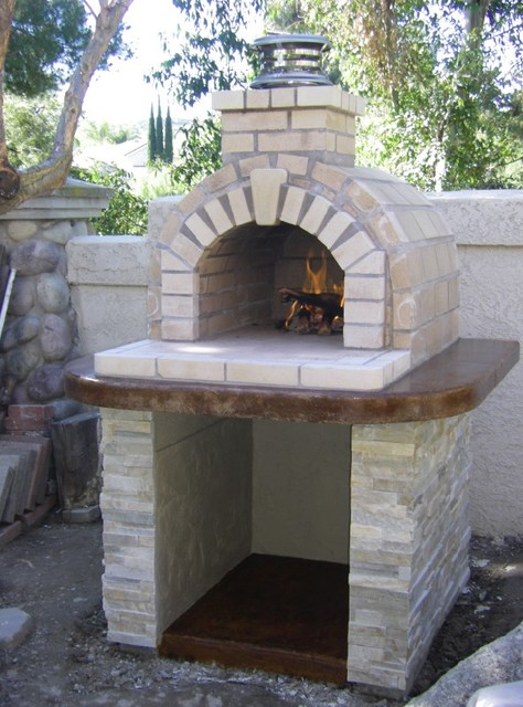 Home Wood Oven ~ The schlentz family diy wood fired brick pizza oven by