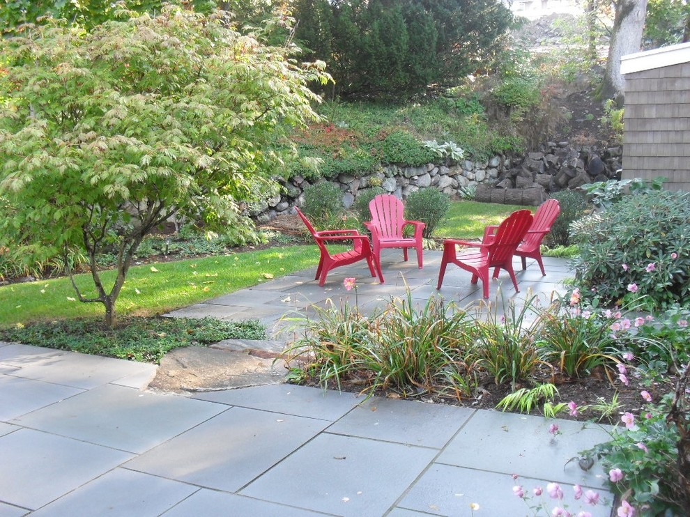 Photo of a transitional landscaping in Boston.