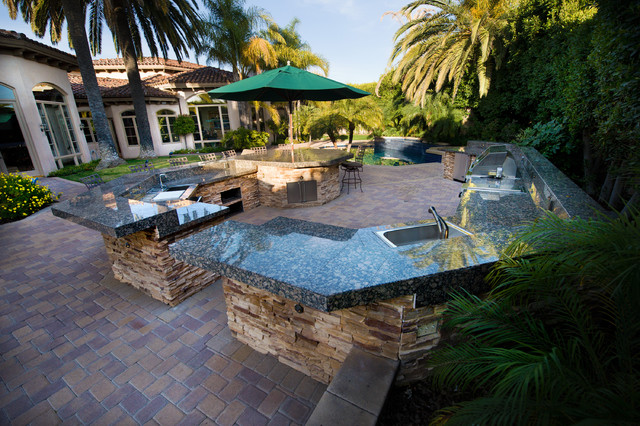 The Ultimate Outdoor Kitchen by AAA Landscape Specialists, Inc. 760-295-1980 traditional-landscape
