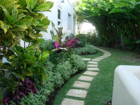 The villa garden renos Tropical Landscape other
