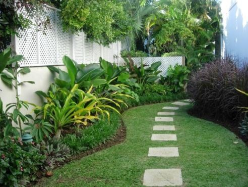 The villa garden renos tropical landscape