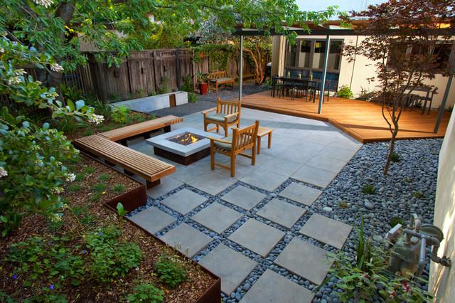 landscape modern garden design - photo #39