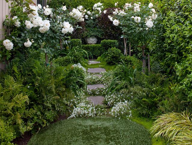 Tiburon shabby chic style giardino san francisco di
