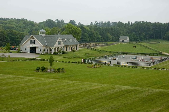 Tidewater Farm Traditional Landscape Manchester By
