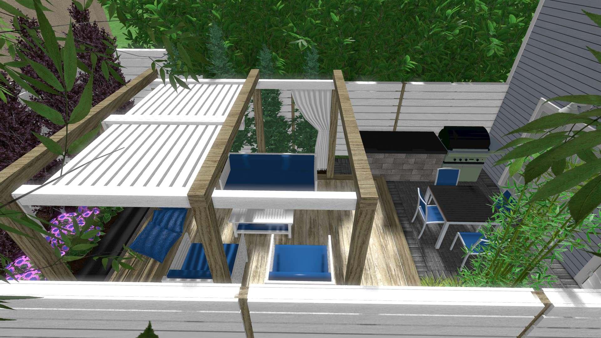 Toronto Backyard