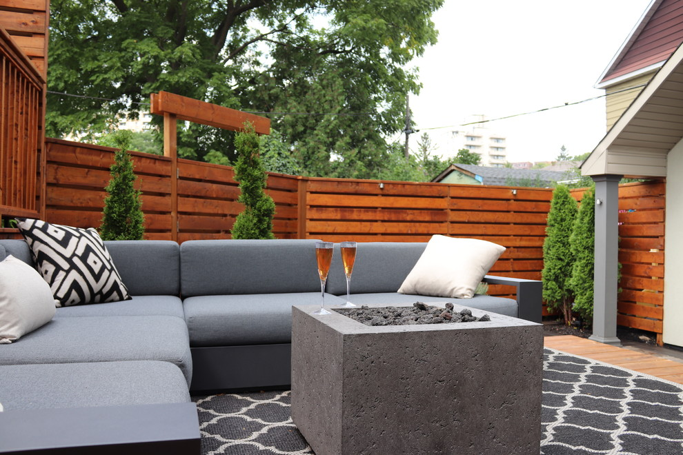 Toronto Low Maintenance Backyard