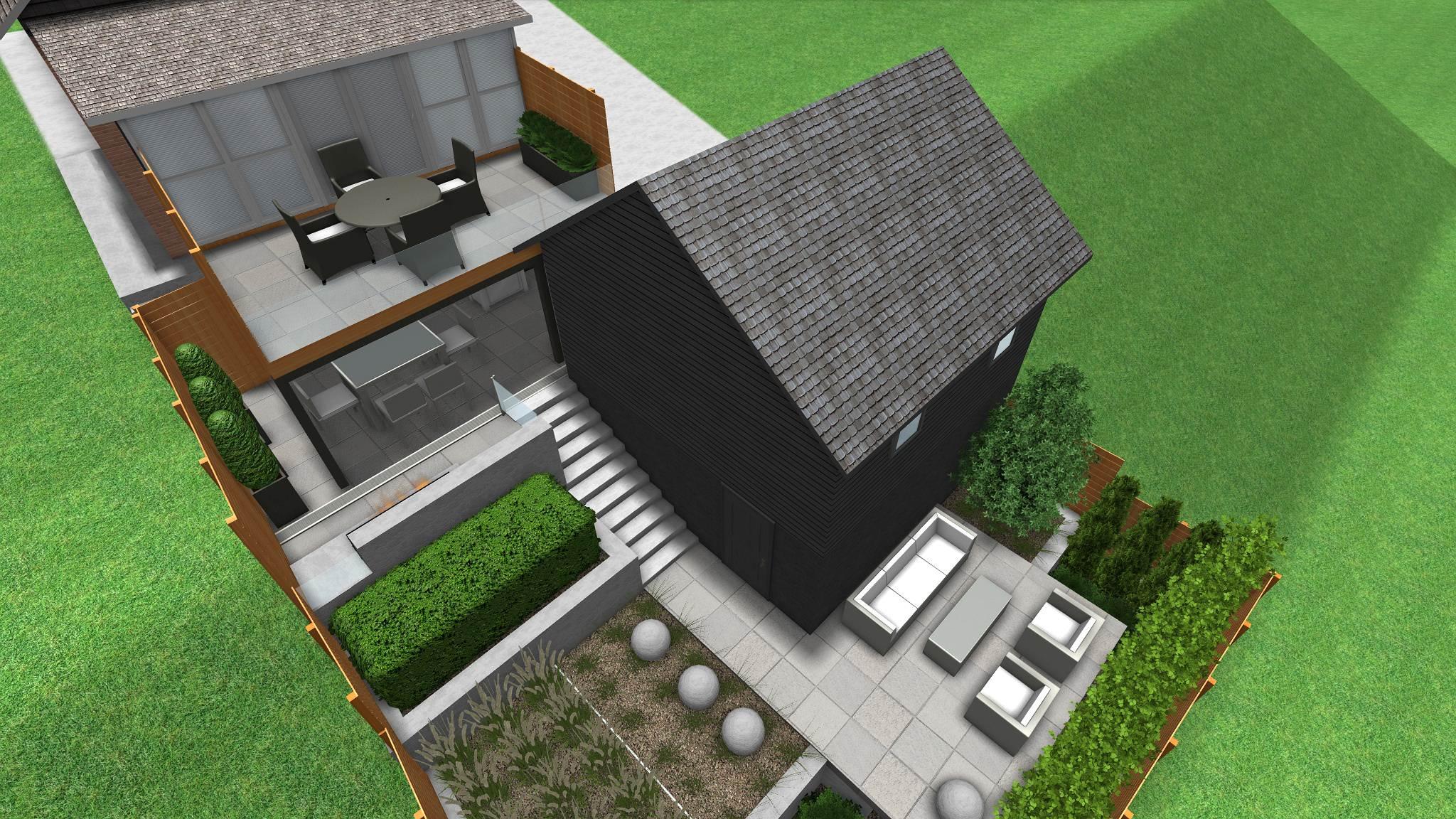 Toronto Modern Backyard Design