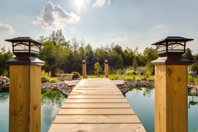 Toronto - Young Court Custom Home traditional-landscape