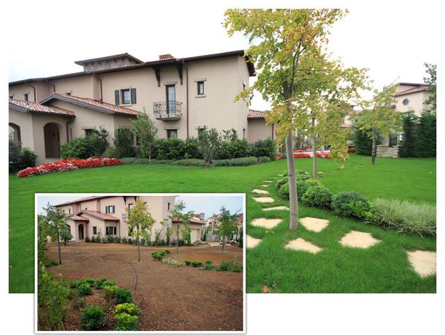 toskana houses modern-landscape
