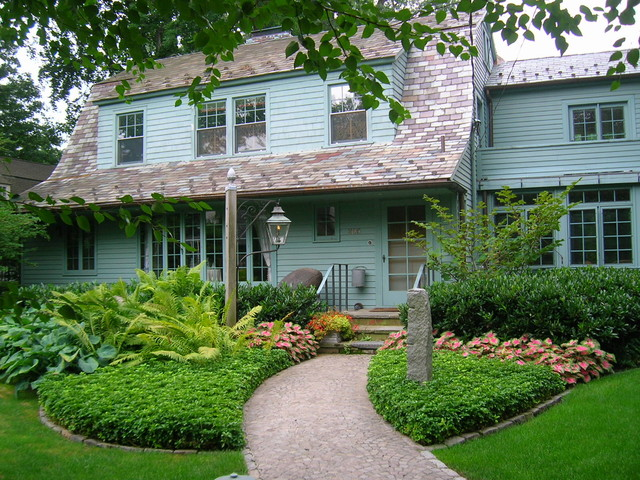 Traditional landscape traditional landscape for Home garden design houzz