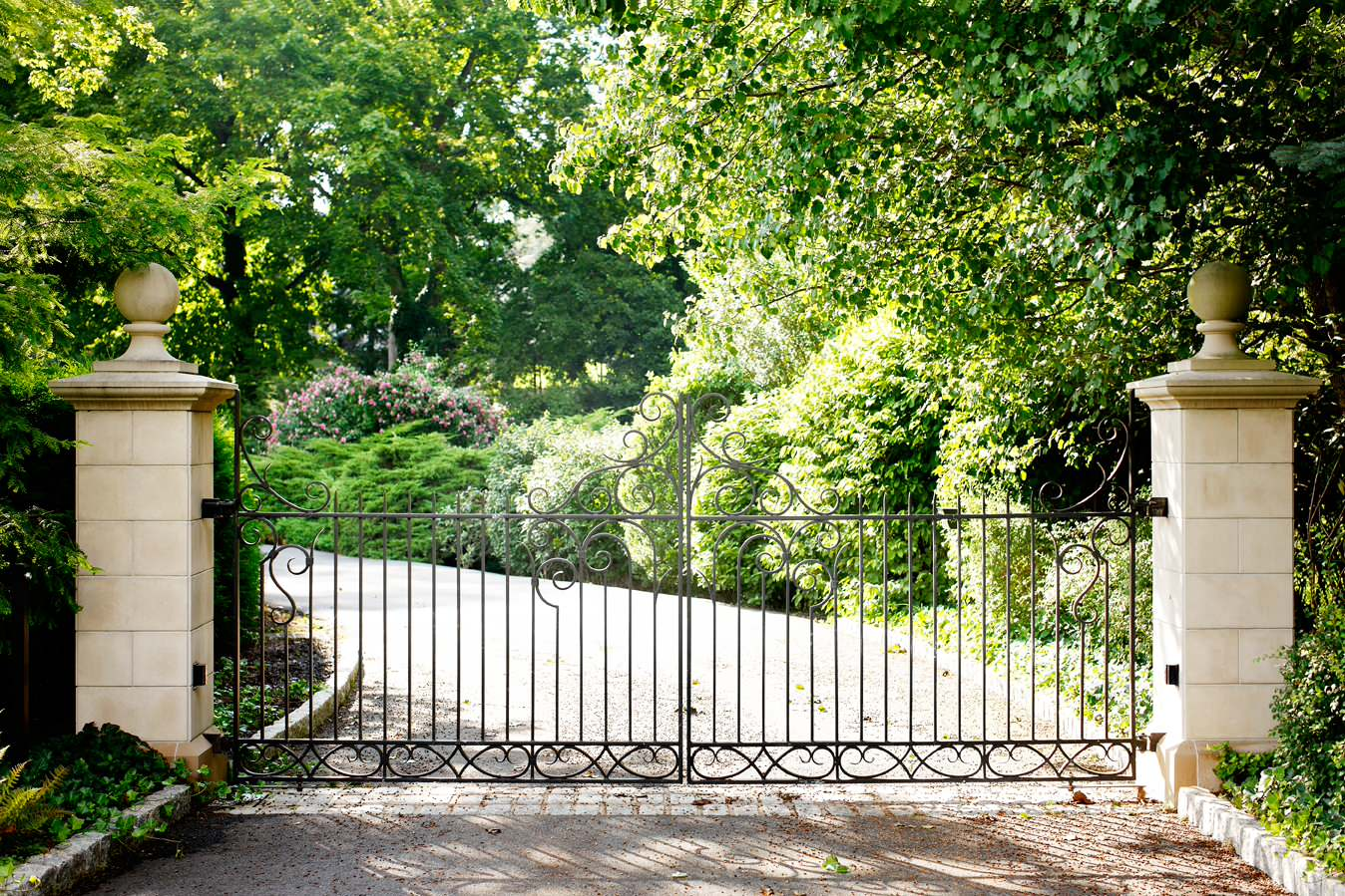 decorative bamboo fence stock photo image of ancient.htm fencing with double gate houzz  fencing with double gate houzz