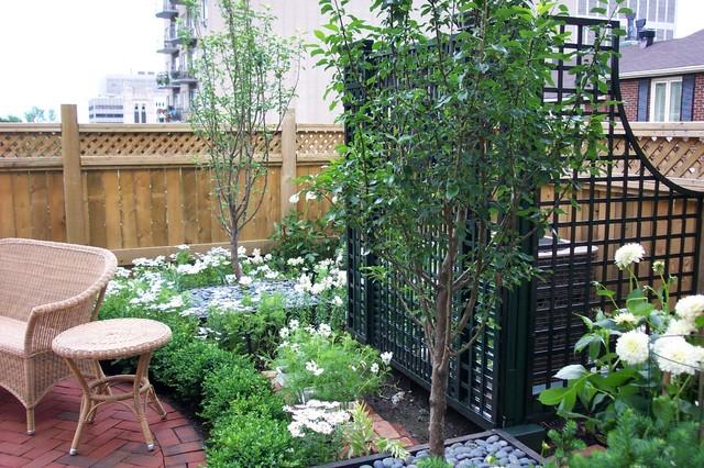 Rue de musee penthouse garden traditional landscape for Garden design generator