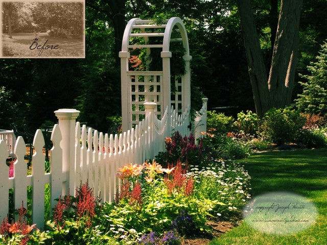 perennial planting design in new jersey traditional landscape