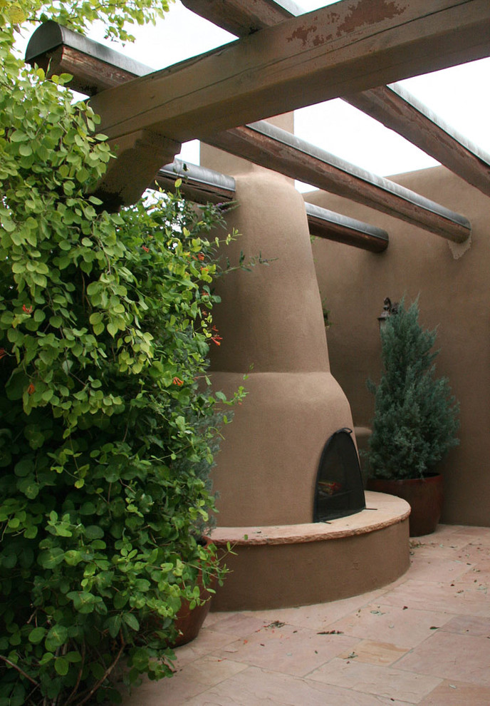 This is an example of a southwestern landscaping in Albuquerque.