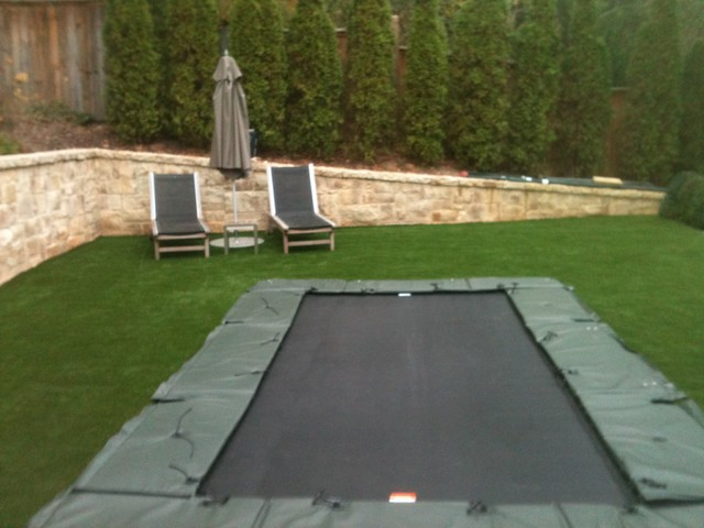 Trampoline Contemporary Landscape Atlanta By