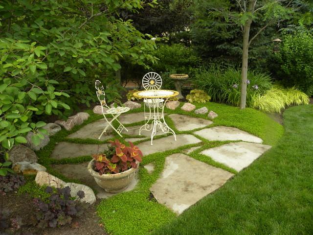 Tranquil garden nooks traditional landscape chicago for Tranquil garden designs