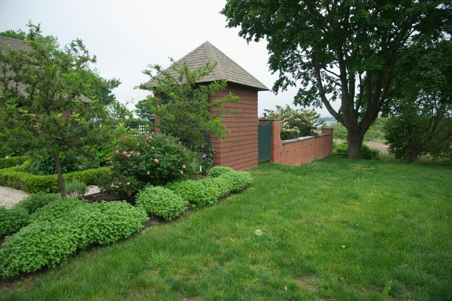 Transformation of a 1950's ranch traditional-landscape