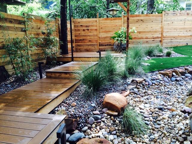 Travis Heights - Austin Texas - Matthew Gatewood Landscape Design  modern-garden - Travis Heights - Austin Texas - Matthew Gatewood Landscape Design