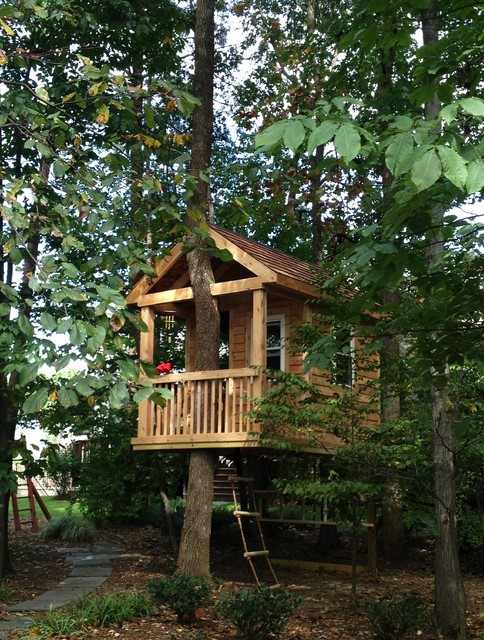 Tree house traditional kids other metro by bianco for Treehouse designers