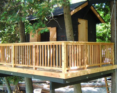 Treehouse - Thornbury, ON eclectic landscape