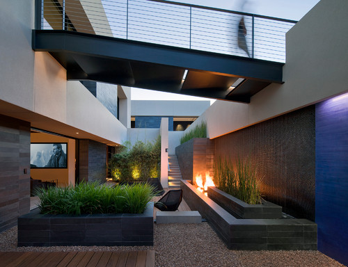 contemporary landscape lighting. contemporary landscape lighting ideas. photo credit: by las vegas architects \u0026 building