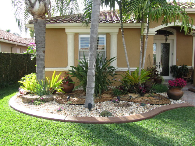 life short tropical landscaping ideas front yard