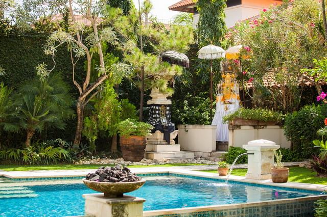 Tropical Garden Design at Villa Mimine Bali