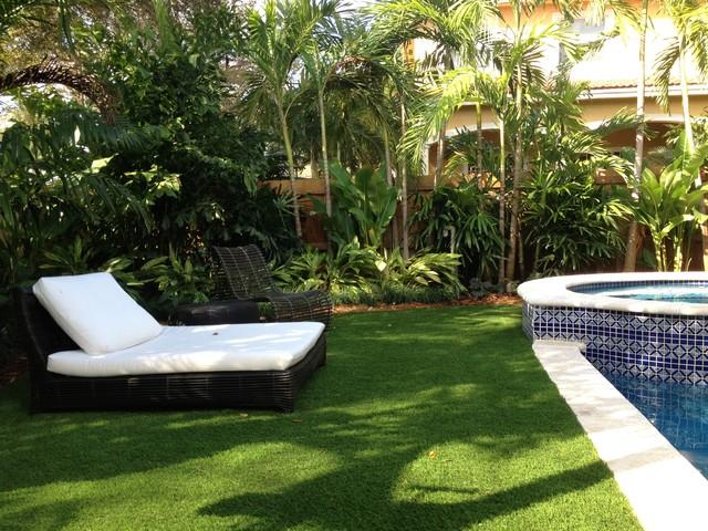 Tropical landscape designs for Landscape design miami
