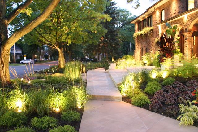 tropical northern perennial garden - modern - landscape - new york