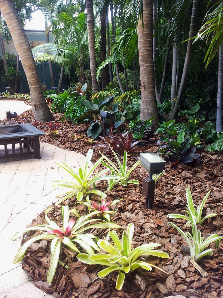 Tropical Paradise - Backyard Makeover - Tropical ...