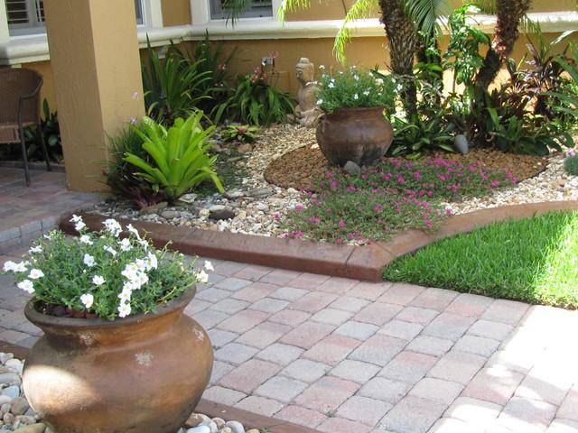 Tropical Rock Garden