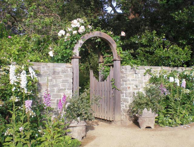 Tudor restoration Tudor style fence
