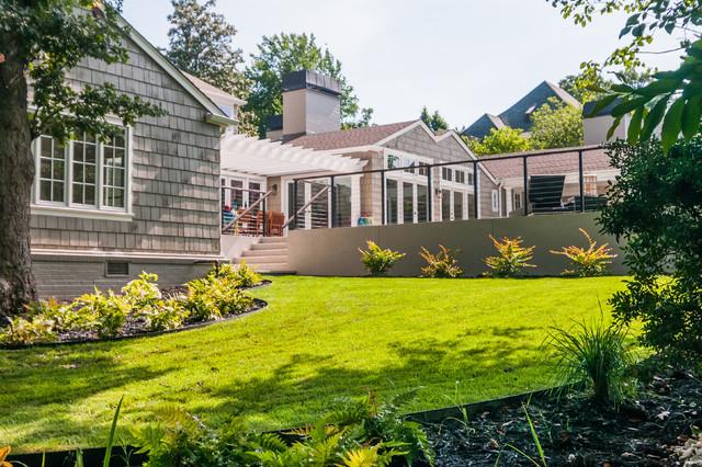 Tulsa midtown hamptons style renovation contemporary for Hamptons home and garden design penarth