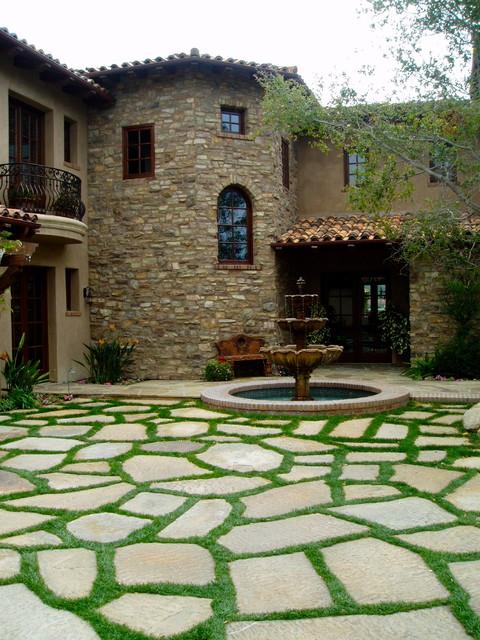 Triyaecom Tuscan Backyard Landscaping Ideas Various