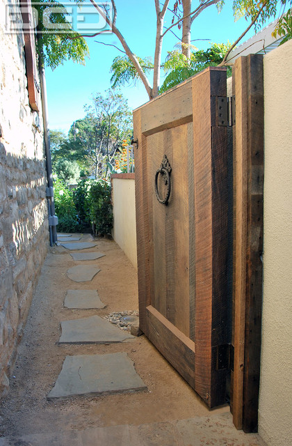 Tuscan Style Architectural Gates Custom Designed By