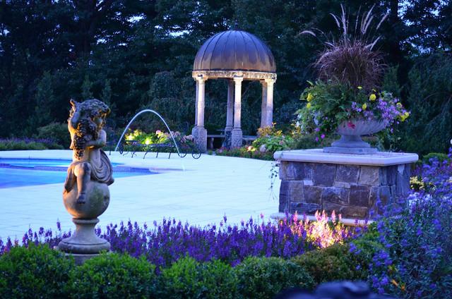 Tuscany pool and landscape design nj landscape new for Tuscan landscape design