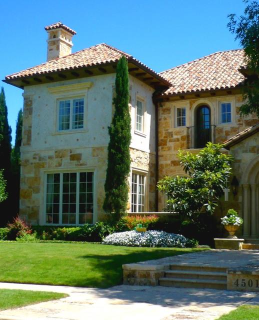 Landscape Lighting Highland Park: Tuscany Villa Home In Highland Park, TX