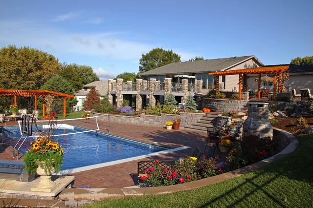 Ultimate Backyard Challenge traditional-landscape