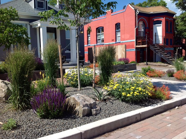 Urban front yard landscaping ideas