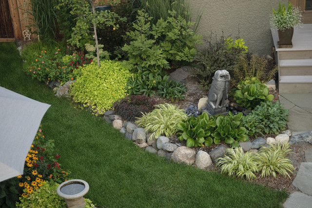 Urban oasis contemporary landscape minneapolis by Modern flower beds