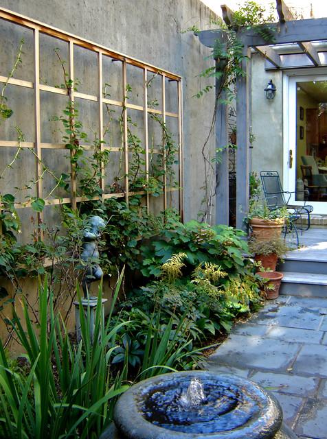 Urban pocket garden for Plusen landscape architects