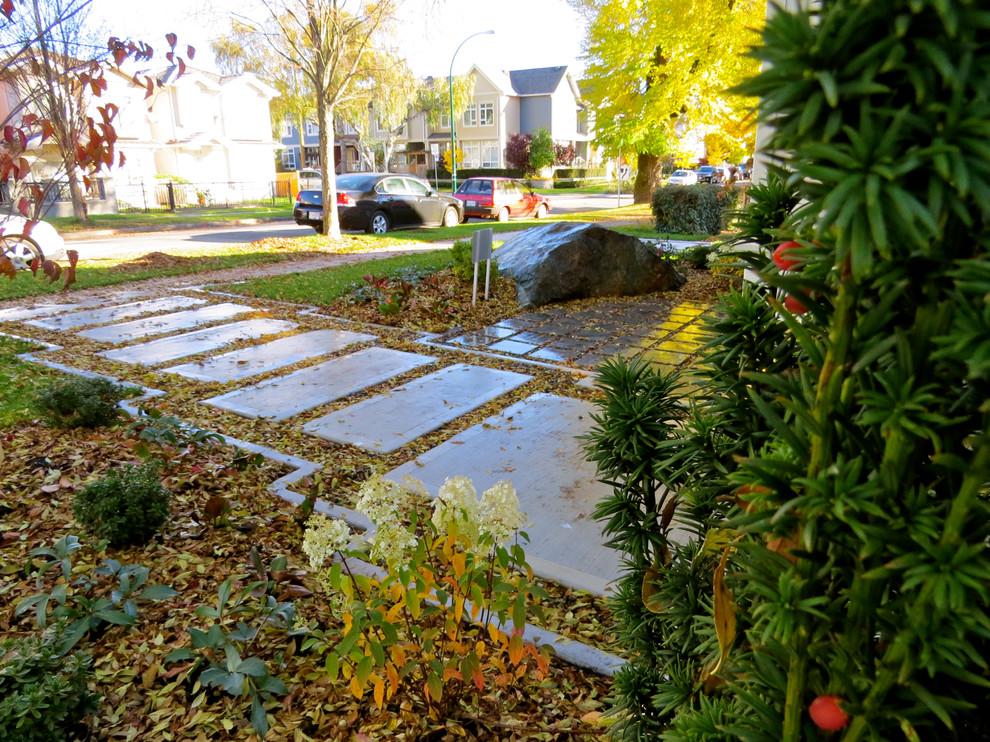Urban Residential Garden Design Project for a new duplex ...