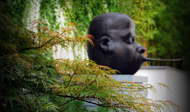 Urban Sculpture Garden contemporary-landscape