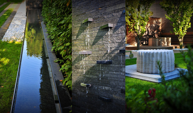 gallery for contemporary urban landscape architecture