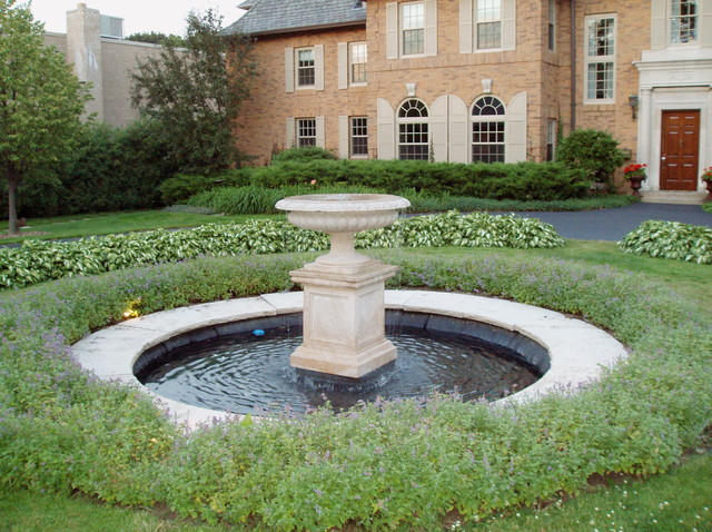 Urn Fountain Traditional Landscape milwaukee by