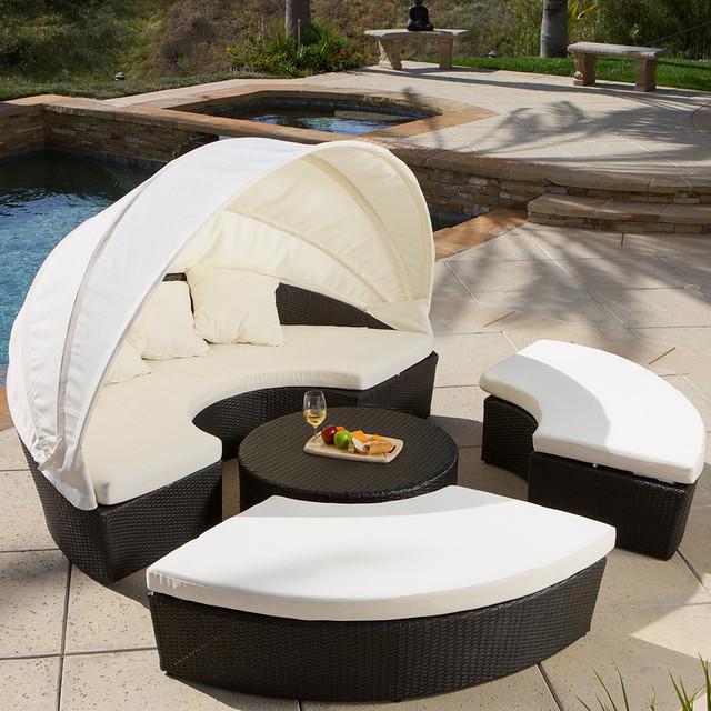 vanowen 4 piece cabana sectional set modern landscape