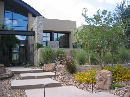 5 rock landscaping ideas for Home garden design houzz